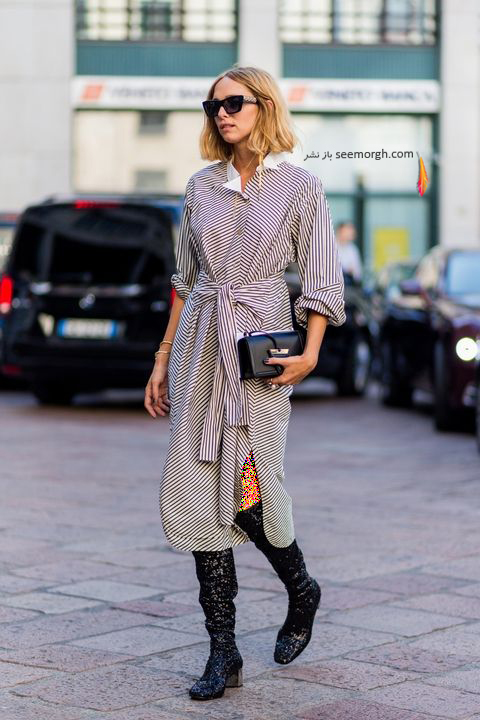 ست کردن بوت زمستاني به پيشنهاد مجله مد بازار Harpers Bazaar - عکس شماره 2
