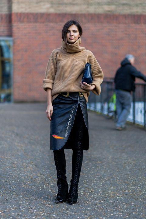 ست کردن بوت زمستاني به پيشنهاد مجله مد بازار Harpers Bazaar - عکس شماره 7