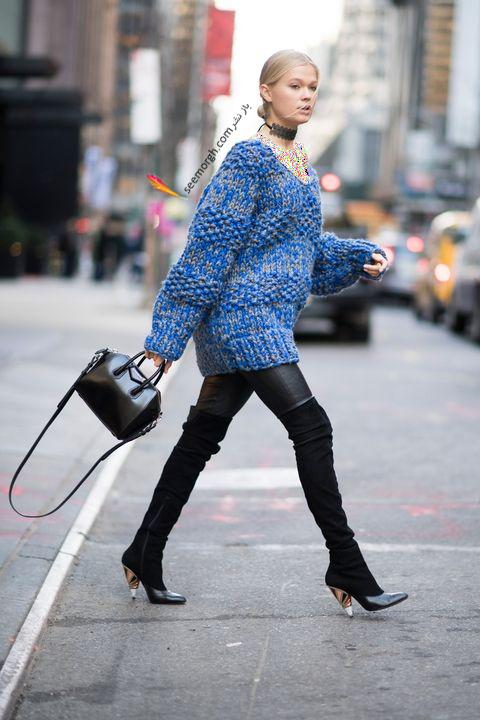 ست کردن بوت زمستاني به پيشنهاد مجله مد بازار Harpers Bazaar - عکس شماره 3