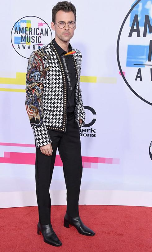 مدل کت و شلوار برد گورسکي Brad Goreski در American Music Awards 2017