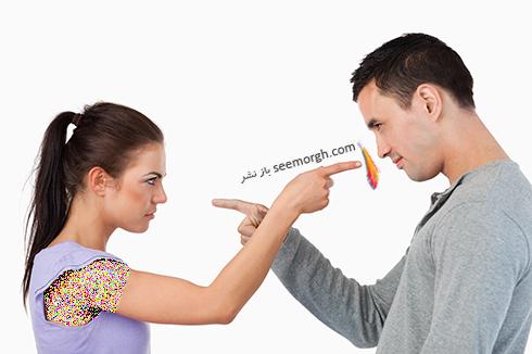 انتقاد کردن از يکديگر