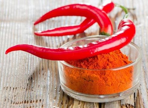 4. از بین بردن چربی شکم با فلفل کاین Cayenne pepper