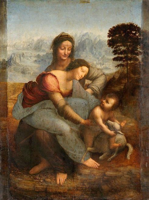 تابلوی مریم عذرا اثر لئوناردو داوینچی