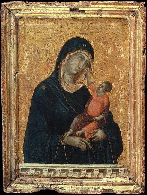 مریم و کودک اثر دوچو