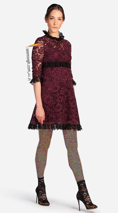 پيراهن دولچه اند گابانا Dolce & Gabbana براي زمستان 2017 - عکس شماره 1