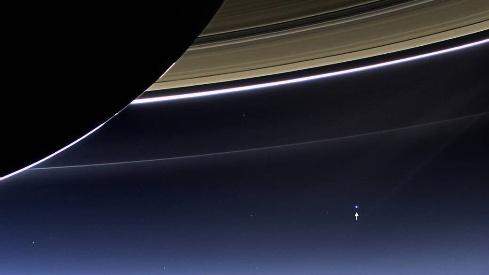 زمین از فاصله 1.5 میلیاردی