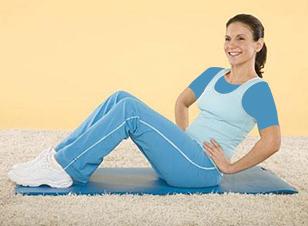 کوچک کردن شکم با حرکت چرخش نيم تنه