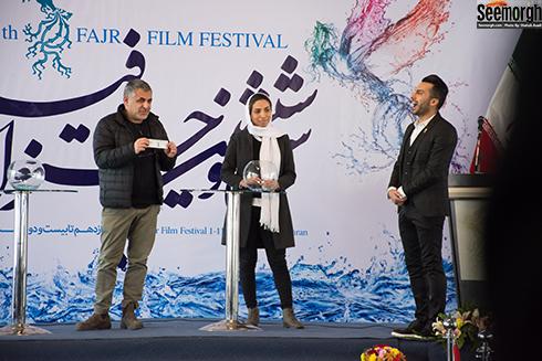 مانی حقیقی در آیین قرعه کشی جشنواره فجر 36