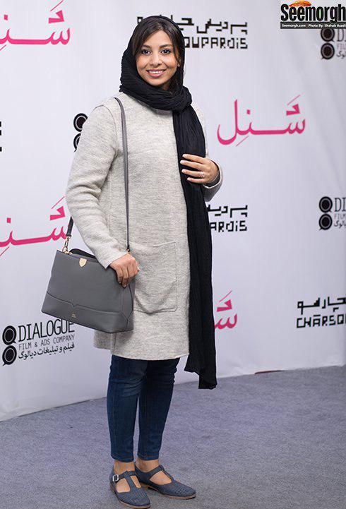 مدل مانتو فاطمه ملک محمدي در پاييز 1396