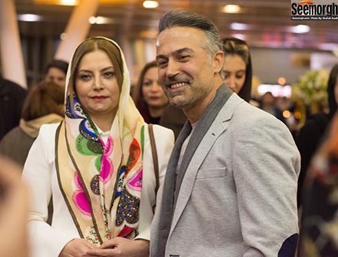 عکس دانیال حکیمی و همسرش