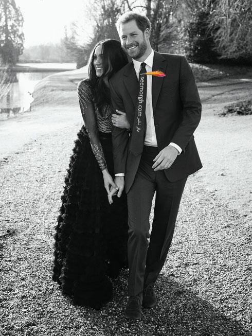 اولين عکسهاي پرنس هري Prince Harry و مگان مارکل Meghan Markle - عکس شماره 1