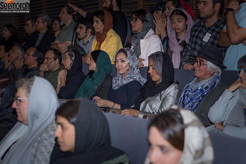 نیکی کریمی در اکران مردمی فیلم هجوم