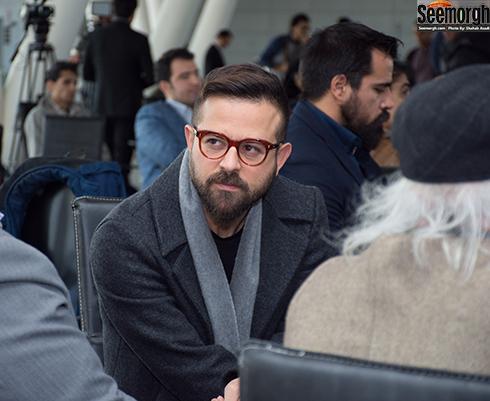 هومن سیدی در آیین قرعه کشی جشنواره فجر 36