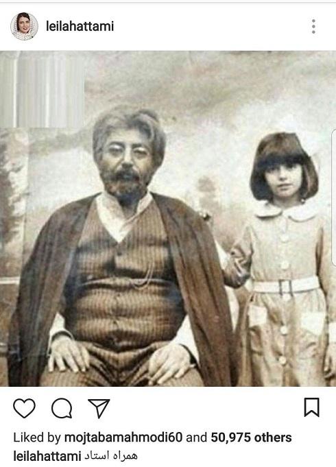 ليلا حاتمي و جمشيد مشايخي در پشت صحنه سريال هزاردستان