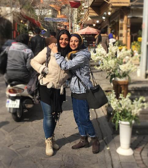 جوانه دلشاد و ليلا ايراني در دربند
