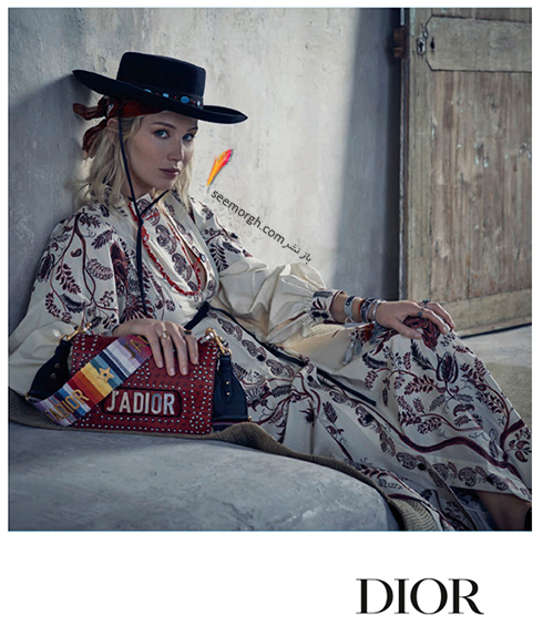 عکس هاي جديد جنيفر لارنس Jennifer Lawrence براي برند ديور Dior - عکس شماره 8
