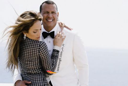 عکس هاي جديد جنيفر لوپز Jennifer Lopez و الکس رودريگرز Alex Rodriguez براي مجله مد ونتي فير Vanity Fair - عکس شماره 3