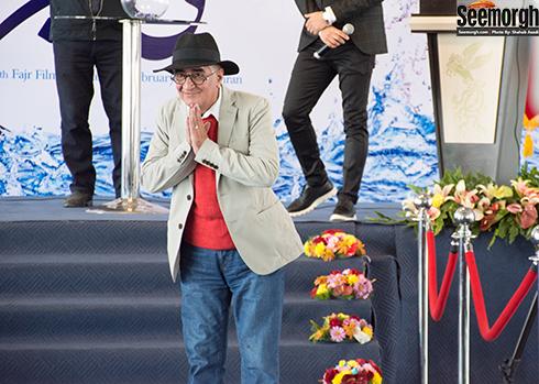 کامبوزيا پرتوي در آيين قرعه کشي جشنواره فجر 36