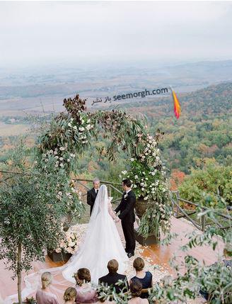 عکس هاي مراسم عروسي کيت آپتون Kate Upton و جاستين ورلاندر Justin Verlander - عکس شماره 6