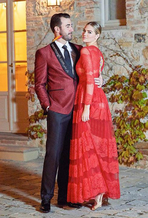 عکس هاي مراسم عروسي کيت آپتون Kate Upton و جاستين ورلاندر Justin Verlander - عکس شماره 1
