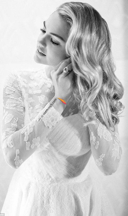عکس هاي مراسم عروسي کيت آپتون Kate Upton و جاستين ورلاندر Justin Verlander - عکس شماره 3