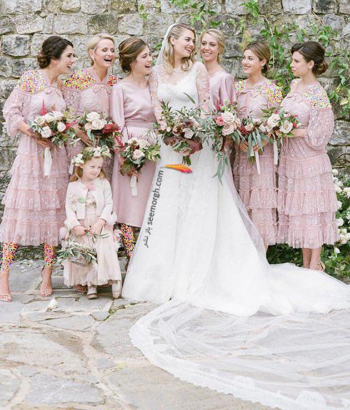 عکس هاي مراسم عروسي کيت آپتون Kate Upton و جاستين ورلاندر Justin Verlander - عکس شماره 5