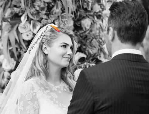 عکس هاي مراسم عروسي کيت آپتون Kate Upton و جاستين ورلاندر Justin Verlander - عکس شماره 9