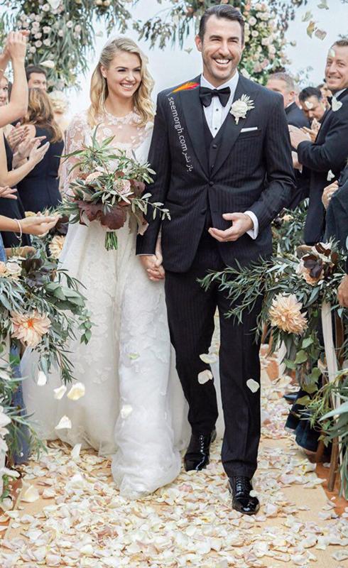 عکس هاي مراسم عروسي کيت آپتون Kate Upton و جاستين ورلاندر Justin Verlander - عکس شماره 8