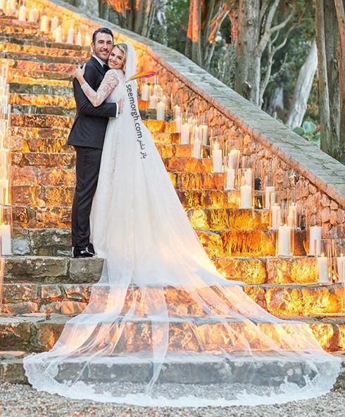 عکس هاي مراسم عروسي کيت آپتون Kate Upton و جاستين ورلاندر Justin Verlander - عکس شماره 11