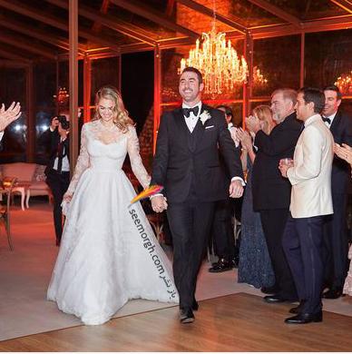 عکس هاي مراسم عروسي کيت آپتون Kate Upton و جاستين ورلاندر Justin Verlander - عکس شماره 13