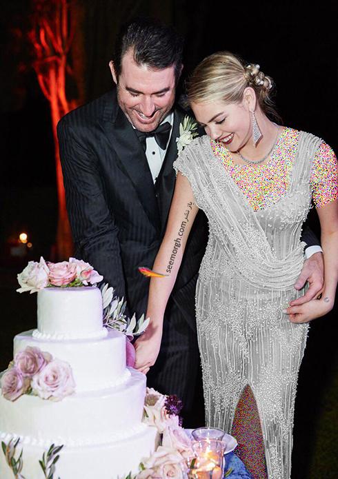 عکس هاي مراسم عروسي کيت آپتون Kate Upton و جاستين ورلاندر Justin Verlander - عکس شماره 15