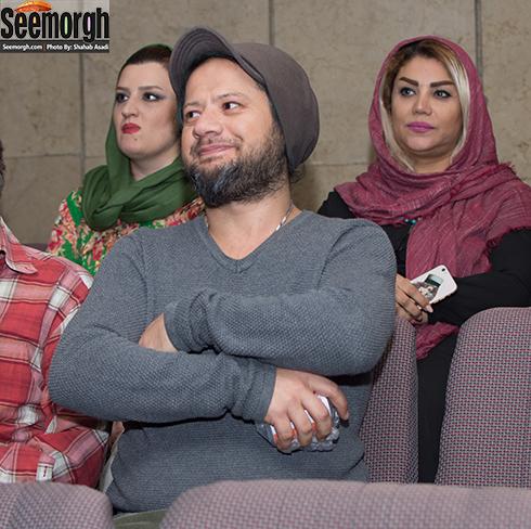 علی صادقی در اکران خالتور