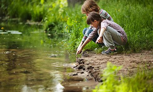 درمان نزديک بيني در کودکان با رفتن به محيط باز!!