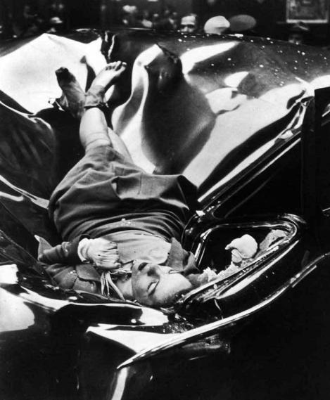 صحنه خودکشی اِولین مک هیل