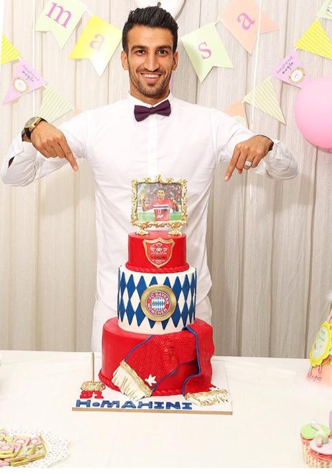 جشن تولد حسین ماهینی