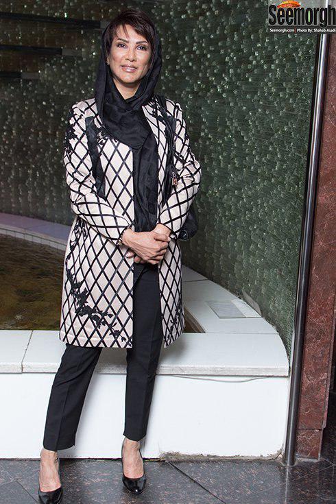 مدل مانتو مهشید افشار زاده در اکران ملی و راه های نرفته اش