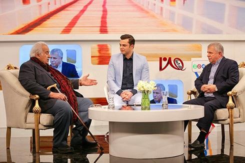 حضور ناصر ملک مطيعي در تلويزيون