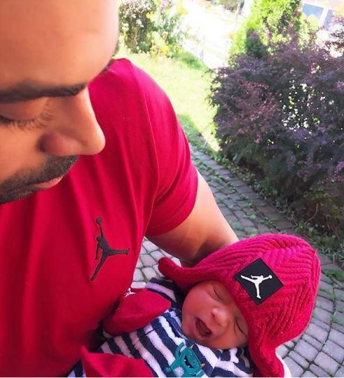 مهراز میری فرزند دوم روناک یونسی و محسن میری