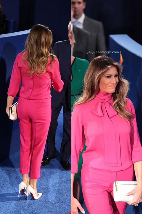 مدل لباس ملانیا ترامپ Melania Trump - مدل شماره 3