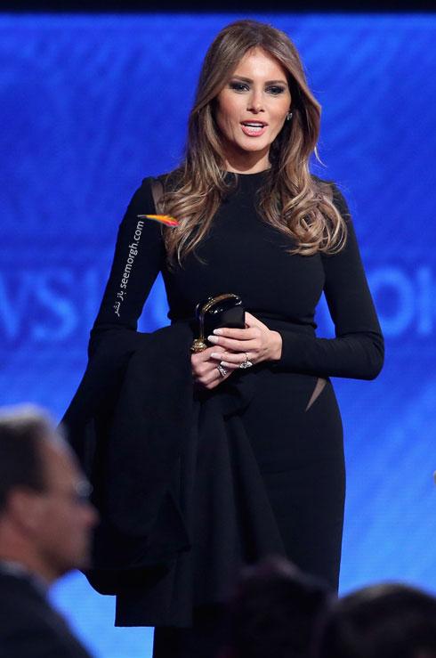 مدل لباس ملانیا ترامپ Melania Trump - مدل شماره 1