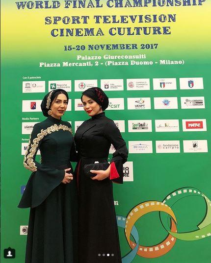مدل لباس مليکا شريفي نيا در جشنواره بين المللي فيلمهاي ورزشي ميلان - عکس شماره 2