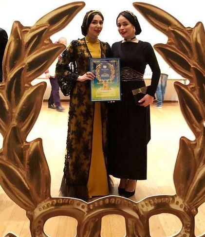 مدل لباس مليکا شريفي نيا در اختتاميه جشنواره بين المللي فيلمهاي ورزشي ميلان - عکس شماره 1