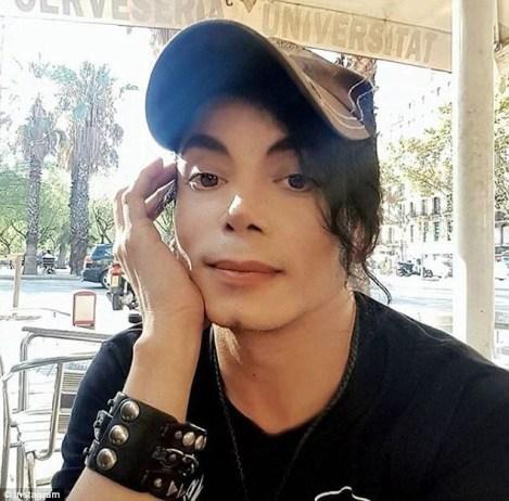 شباهت باور نکردنی به مایکل جکسون پس از جراحی زیبایی!