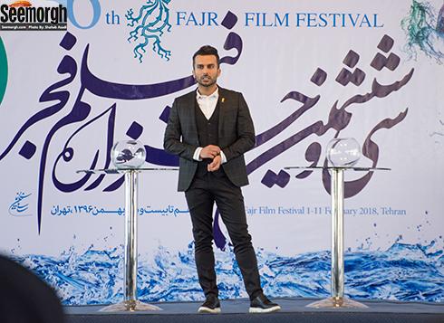 محمدحسين ميثاقي مجري آيين قرعه کشي جشنواره فجر 36