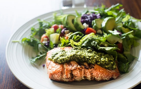 5. برای از بین بردن چربی شکم از رژیم غذایی مدیترانه ای بیشتر استفاده کنید