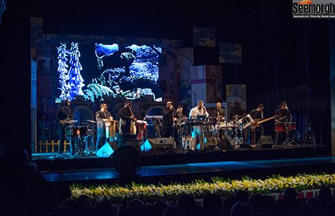 مراسم اختتاميه چهارمين جشن سالانه موسيقي ما