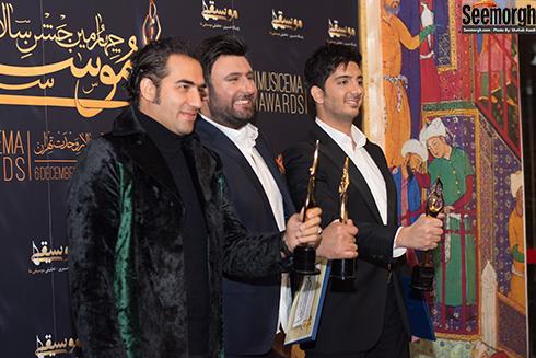 فرزاد فرزين, محمد عليزاده و رضا يزداني