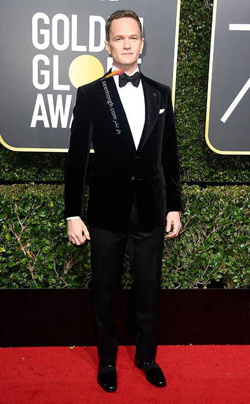 مدل کت و شلوار نيل پاتريک هريس Neil Patrick Harris در مراسم گلدن گلوب 2018