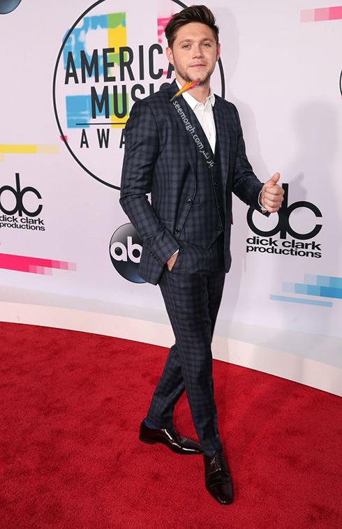 مدل کت و شلوار نيال هورن Niall Horan در American Music Awards 2017