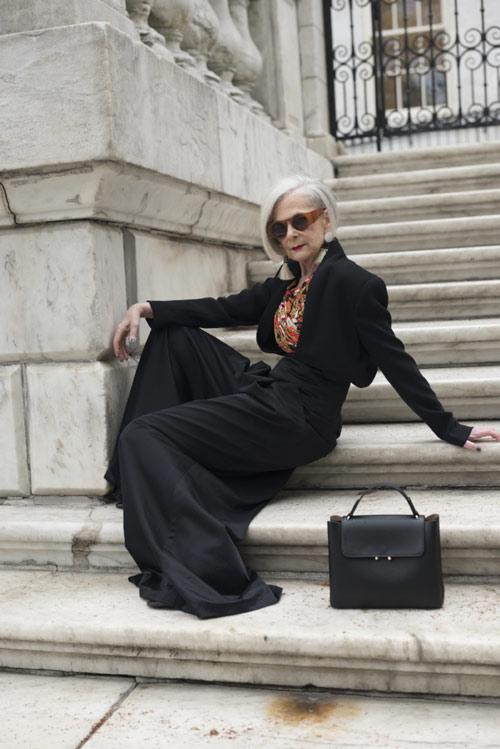 لین اسلاتر lin staler ، پیرترین مدل در دنیای مد - عکس شماره 2